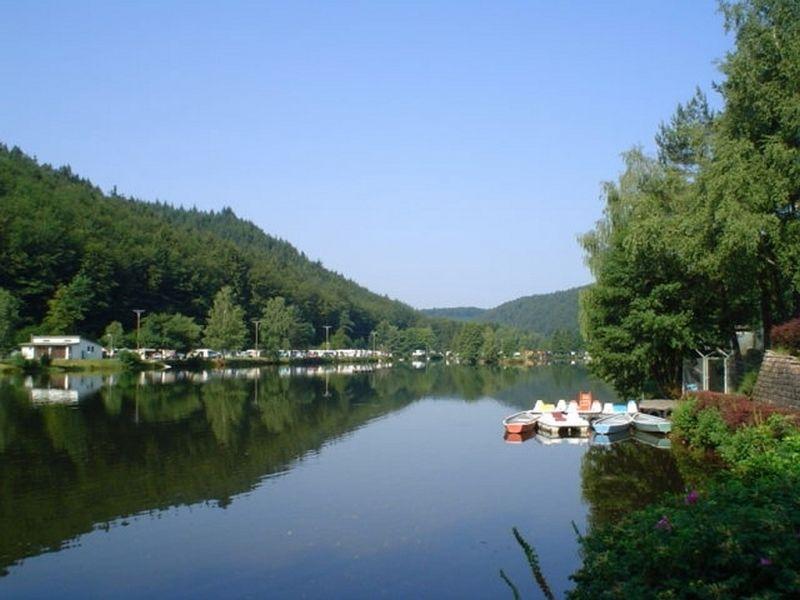 Campingpark Clausensee im Naturpark Pfälzerwald