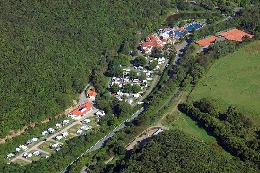 Campingpark in der Enz
